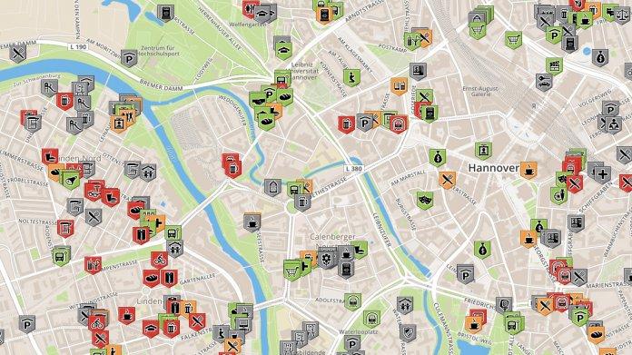 Barrierefreiheit: Mapping-Projekt zu rollstuhlgerechten Orten