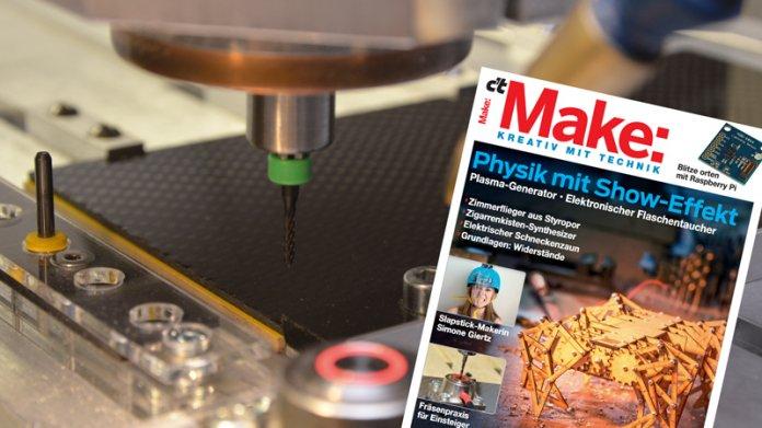 Make: Ausgabe 1/16 jetzt im heise shop bestellbar