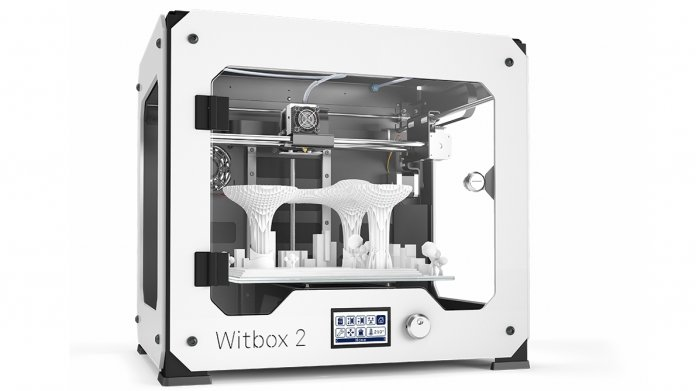3D-Drucker Witbox 2 von bq im Test: An den richtigen Schrauben gedreht