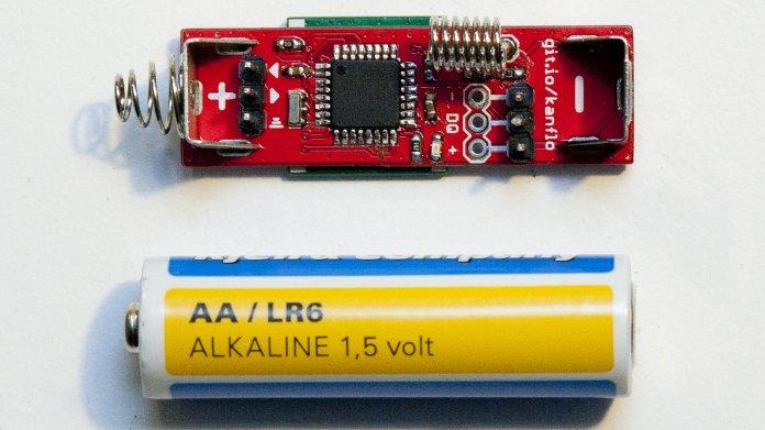 AAduino: Der Mikrocontroller versteckt sich im Batteriefach