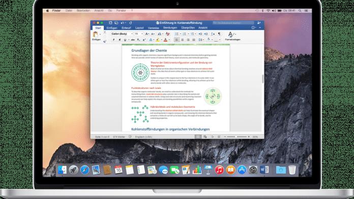 Microsoft Office für Mac