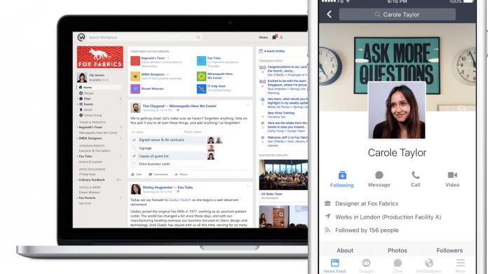 Facebook nimmt Kommunikation in Unternehmen in Angriff