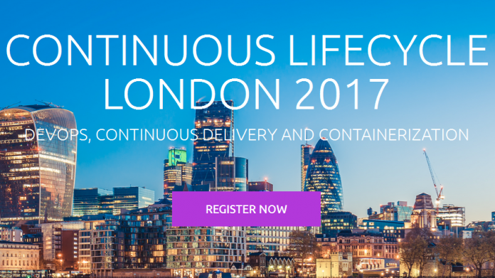 Programm für Continuous Lifecycle London steht