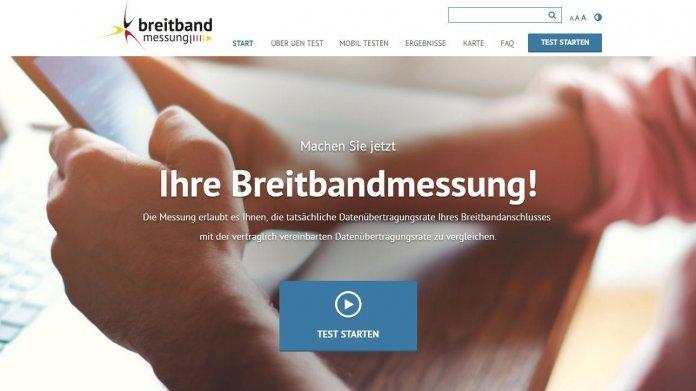 Bundesnetzagentur / Breitbandmessung