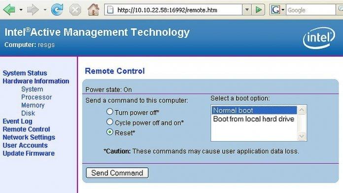 Intel Active Management Technology (AMT)