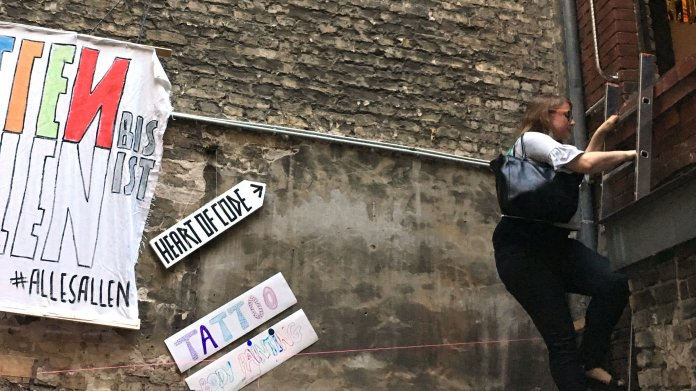 """Berliner Hackerspace """"Heart of Code"""" bringt Frauen nach oben"""