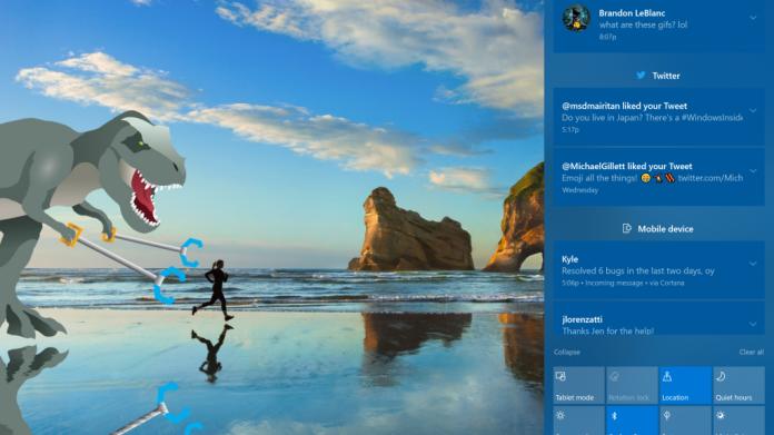 Windows 10 Insider Preview 16215 mit neuer Startmenü-Optik
