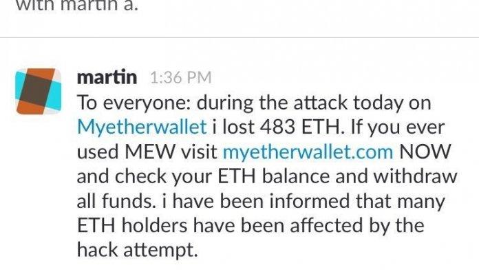 Scammer nehmen Nutzer von Ethereum-Walletdienst aufs Korn