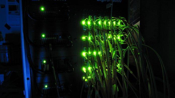 Netzwerk, Kabel, Switch, Foundry Networks