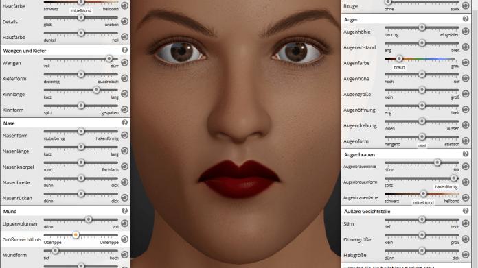 Vorsicht, Lippenstift! - Forscher ergründen Wirkung digitaler Figuren