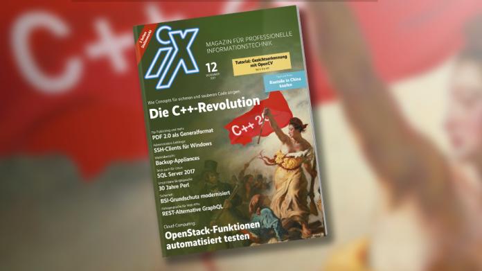 iX 12/2017: Die C++20-Revolution
