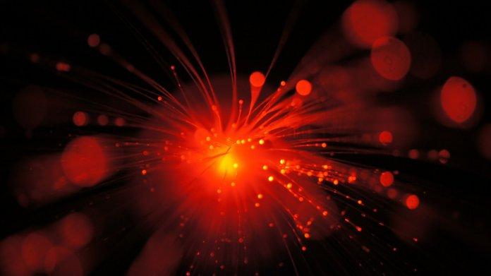 Glasfaser, Daten, Licht