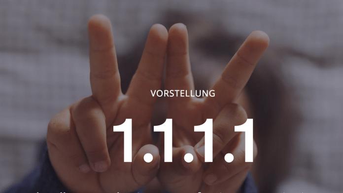 1.1.1.1: Cloudflare bietet datenschutzfreundlichen DNS-Dienst