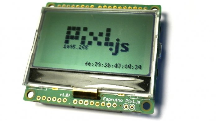 Pixl.js: Neues Espruino-Board mit Bluetooth und Display
