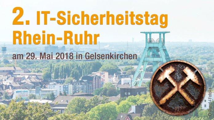 2. IT-Sicherheitstag am 29. Mai in Gelsenkirchen: Jetzt Frühbucherrabatt sichern