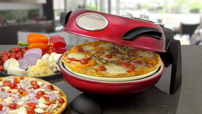 Rotierend zur besseren Pizza
