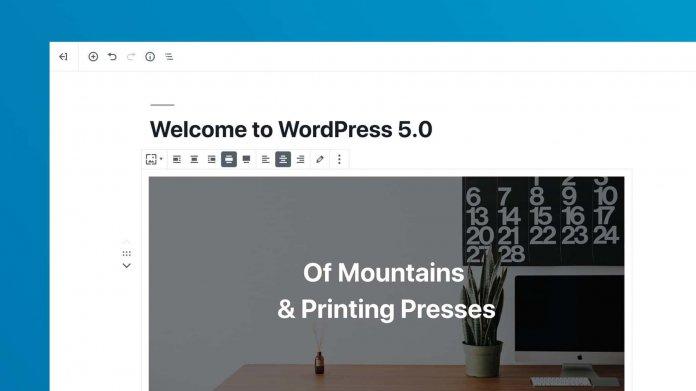 WordPress 5.0 mit umstrittenem Gutenberg-Editor