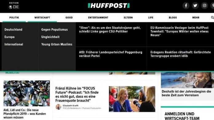 Die deutsche Ausgabe der HuffPost wird eingestellt