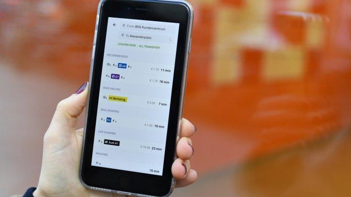 Jelbi: BVG will übergreifende Mobilitäts-App für Berlin im Sommer starten