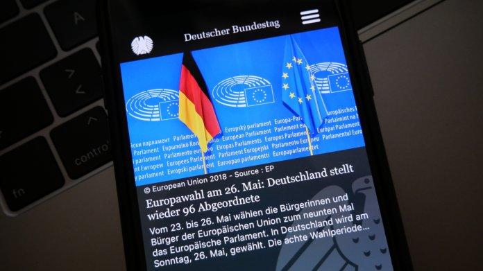 Acht Monate Verspätung: Neue Smartphone-App des Bundestags ist fertig