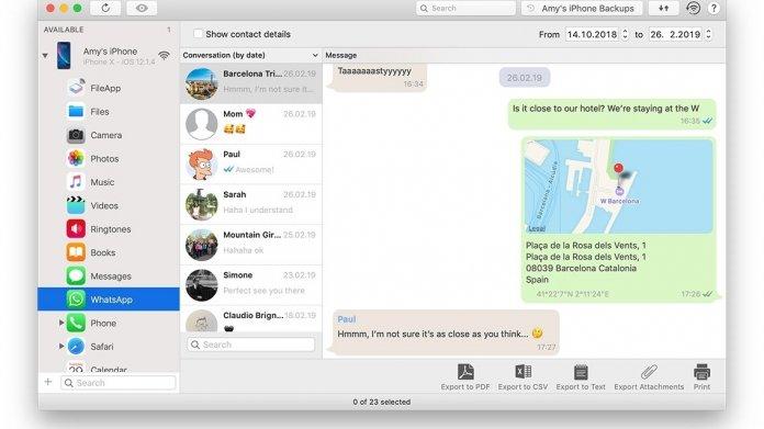 iMazing: iOS-Allzweckwaffe extrahiert WhatsApp-Nachrichten