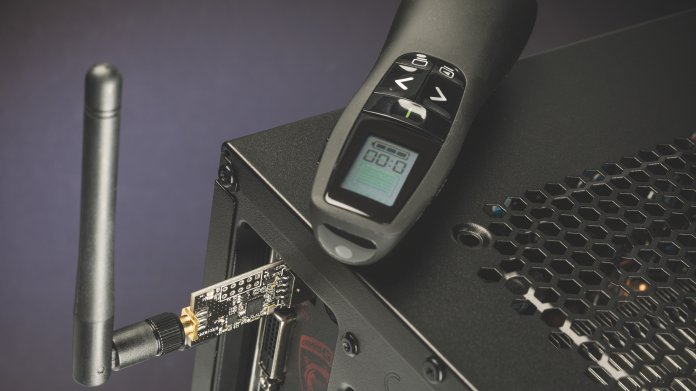 Logitech Wireless Presenter für Funkangriffe anfällig