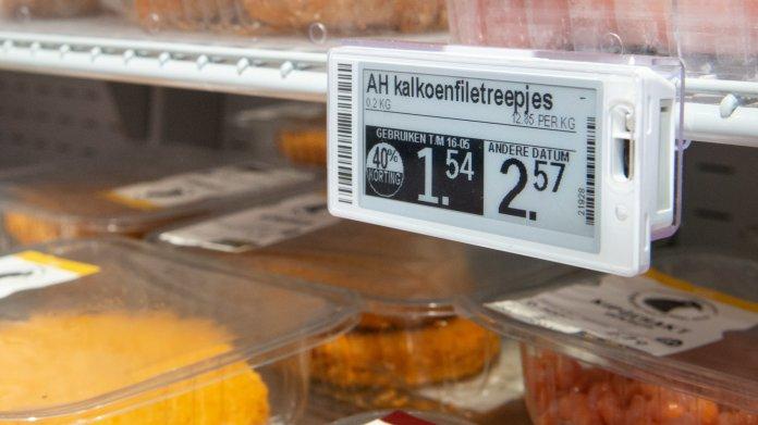 Digitale Preisschilder: Supermarkt senkt automatisch Preise