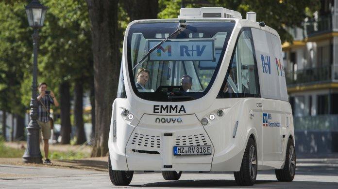 Autonomer Kleinbus EMMA