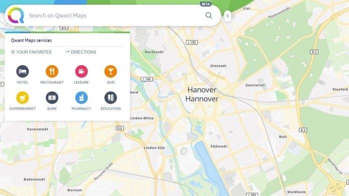 Qwant startet eigenen Kartendienst Qwant Maps