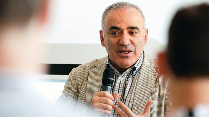 Der Ex-Schachweltmeister Garri Kasparow über die DSGVO und KI