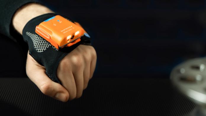 Scannen per Handschuh