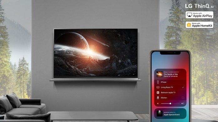 Erster HomeKit-Fernseher: LG bringt Update für 2019er-Modelle