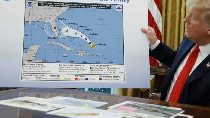 US-Meteorologen zwischen den Fronten: Streit um Trumps Hurrikan-Tweet