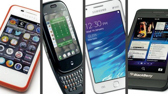 Das ist aus alten Betriebssystemen für Smartphones geworden