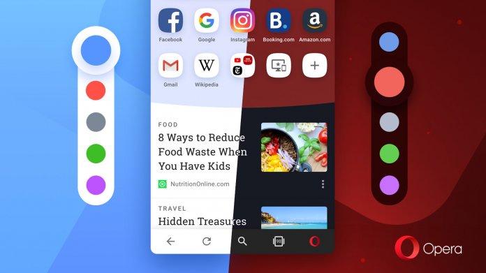 Browser: Opera 54 für Android mit neuem Aussehen