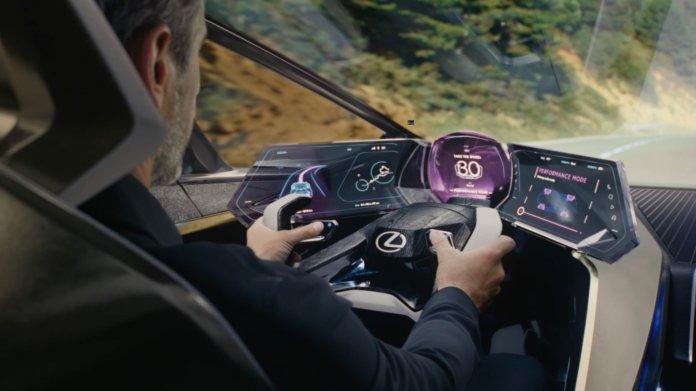 Elektroauto-Konzept Lexus LF-30: 500 km Reichweite in futuristischem Enterieur