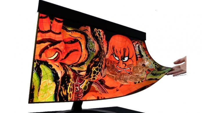 OLED-Monitor zum Aufrollen