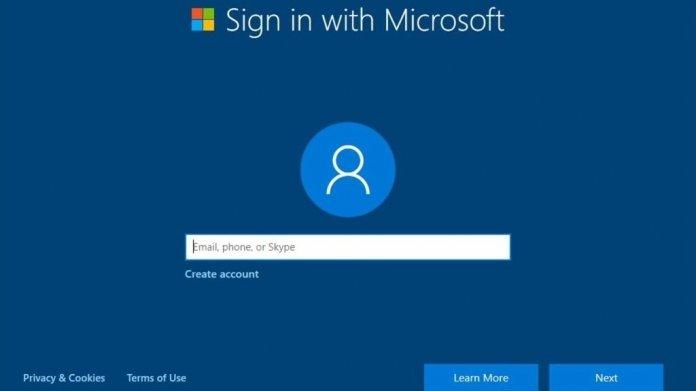 Windows 10 Version 1909 gibt für US-Nutzer Microsoft-Konto bei der Ersteinrichtung vor