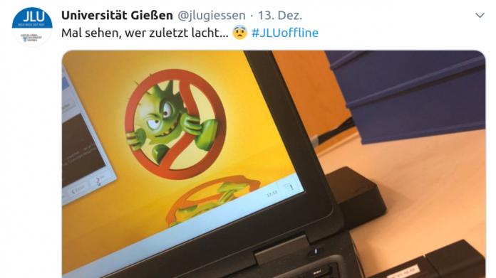 Trojaner-Befall: Uni Gießen nutzt Desinfec't für Aufräumarbeiten