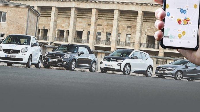 Smart, Mini, BMW, Mercedes