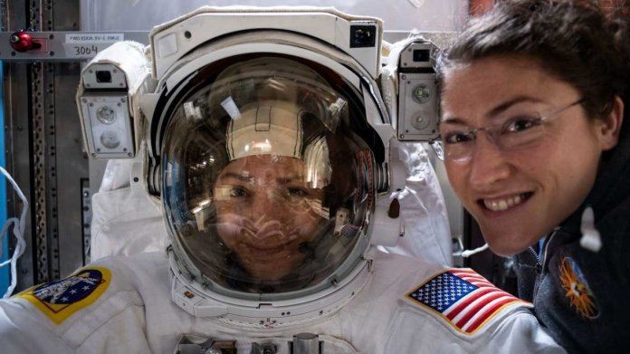 Nasa-Astronautin Christina Koch nun Frau mit längstem Weltraum-Flug