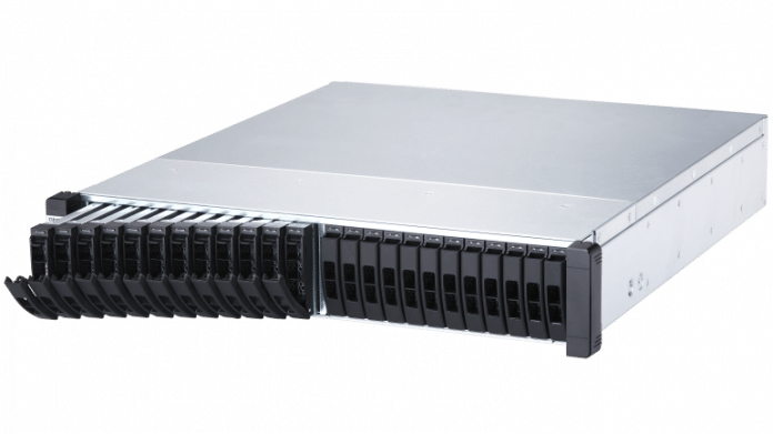 QNAP ES2486dc: Hochverfügbarer Storage-Server für 24 SAS-SSDs