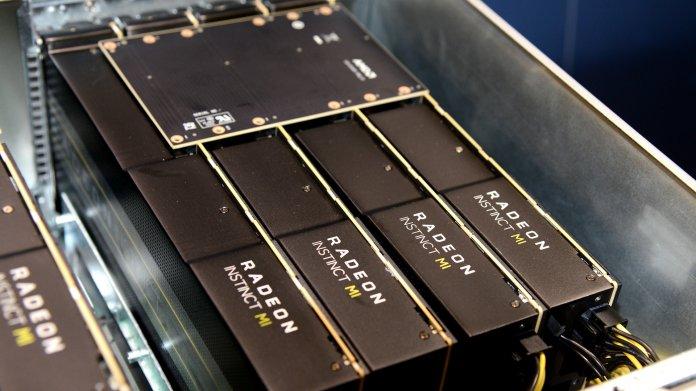 AMD-Grafikchip Arcturus: Compute-Monster mit 8192 Shader-Kernen