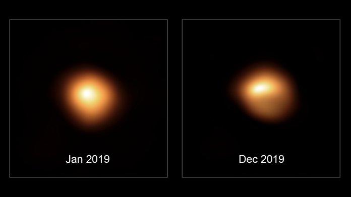Beteigeuze vor Supernova? – Foto zeigt deutlich abgedunkelten Stern