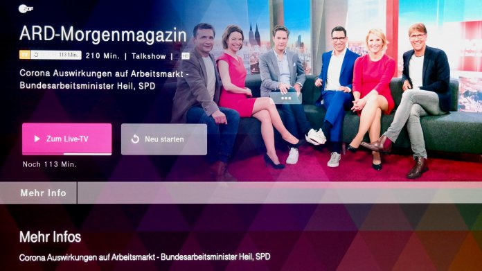 MagentaTV Stick: Streaming-Client mit Android TV