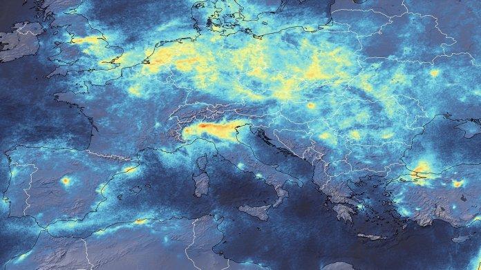 Coronavirus: Luftverschmutzung geht auch in Italien deutlich zurück