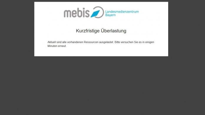 Bayerische Lernplattform Mebis von DDoS-Angriffen lahmgelegt