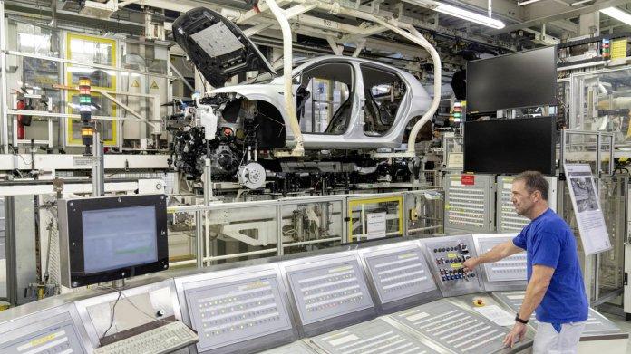 VW Golf Produktion