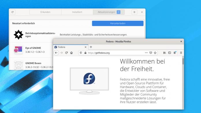 Fedora 32: Mehr Ordnung im Arbeitsspeicher