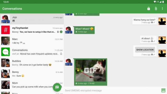 Conversations: Open-Source-Messenger mit Audio- und Videoanruf